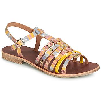 Schuhe Mädchen Sandalen / Sandaletten GBB BANGKOK Gelb