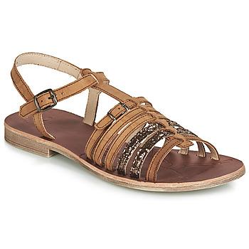 Schuhe Mädchen Sandalen / Sandaletten GBB BANGKOK Braun