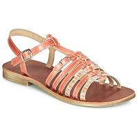 Schuhe Mädchen Sandalen / Sandaletten GBB BANGKOK Korallenrot