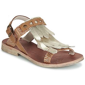 Schuhe Mädchen Sandalen / Sandaletten GBB ACARO Braun / Gold
