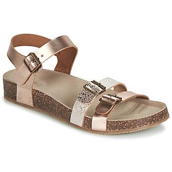 Schuhe Mädchen Sandalen / Sandaletten GBB BIGA Rose / Gold / Gold