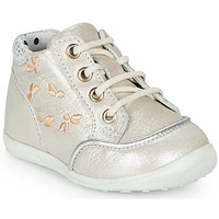 Schuhe Mädchen Sneaker High Catimini BALI Beige-silber / Dpf / Gluck