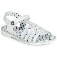 Schuhe Mädchen Sandalen / Sandaletten Catimini MUNDA Weiss