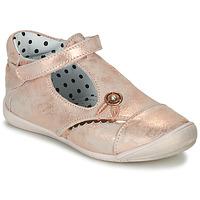 Schuhe Mädchen Ballerinas Catimini SANTA Rose / Goldfarben / Dpf / Kezia