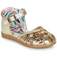 Schuhe Mädchen Ballerinas Catimini NAYA Gold