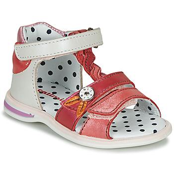 Schuhe Mädchen Sandalen / Sandaletten Catimini GOROKA Weiss