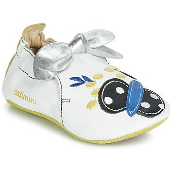 Schuhe Mädchen Hausschuhe Catimini CATIVA Weiss
