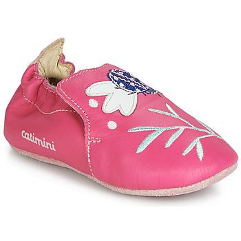 Schuhe Mädchen Hausschuhe Catimini CASSIA Rose