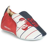 Schuhe Jungen Hausschuhe Catimini CALURA Marine / Rot