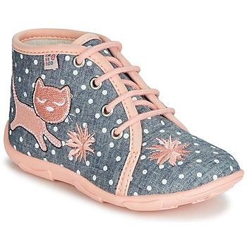 Schuhe Mädchen Hausschuhe GBB MERMIDA Grau / Rose