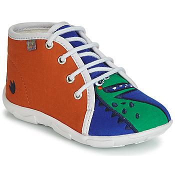 Schuhe Jungen Hausschuhe GBB MARCCO Orange / Blau