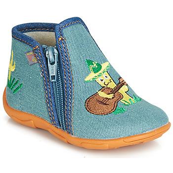 Schuhe Jungen Hausschuhe GBB FERNANDO Blau