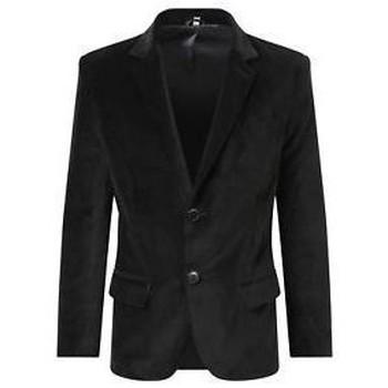 Kleidung Mäntel De La Creme Formeller / lässiger Luxus-Blazer Black