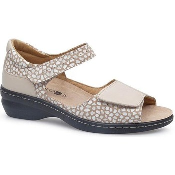Schuhe Damen Sandalen / Sandaletten Calzamedi FASHIO BEIGE