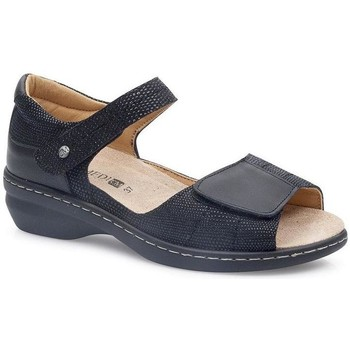Schuhe Damen Sandalen / Sandaletten Calzamedi FASHIO SCHWARZ