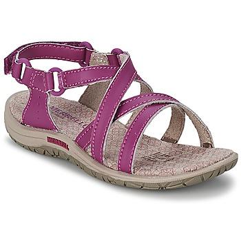Schuhe Mädchen Sportliche Sandalen Merrell JAZMIN KIDS Violett