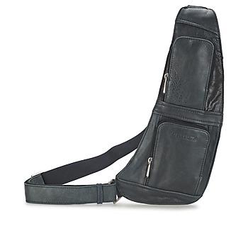 Taschen Herren Geldtasche / Handtasche Arthur & Aston MIGUEL Schwarz