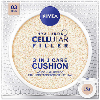 Beauty Damen Make-up & Foundation  Nivea Hyaluron Cellular Filler 3in1 Care Cushion 03-dark 15 Gr 15 g