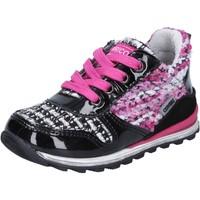 Schuhe Mädchen Sneaker Low Enrico Coveri schuhe bambina  sneakers mehrfarben lack textil BX830 mehrfarben
