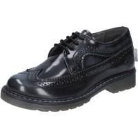 Schuhe Jungen Derby-Schuhe Beverly Hills Polo Club POLO elegante grau glänzendem leder BX866 grau
