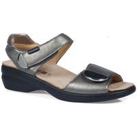 Schuhe Damen Sandalen / Sandaletten Calzamedi S  ELIGIA SILBER