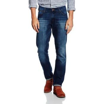 Kleidung Herren Slim Fit Jeans Wrangler ® Larston Blaze 18S8282T niebieski