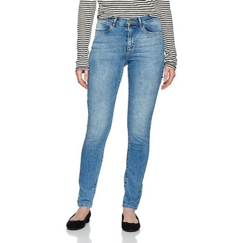 Kleidung Damen Röhrenjeans Wrangler ® High Rise Skinny 27HX794O blau