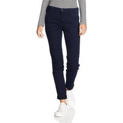 Kleidung Damen Slim Fit Jeans Lee ® Chino Herringbone 310YKMF niebieski