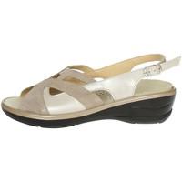 Schuhe Damen Sandalen / Sandaletten Novaflex BORRIANA 001 Sandal Damen Beige Beige