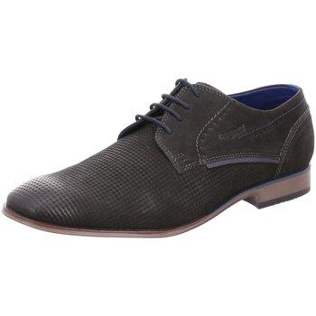 Schuhe Herren Derby-Schuhe Bugatti Schnuerschuhe Mattia 312-10104-3500 schwarz