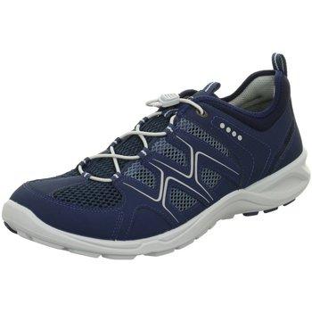Schuhe Herren Sneaker Low Ecco Schnuerschuhe 841114/58933 841114-58933-terracruise blau