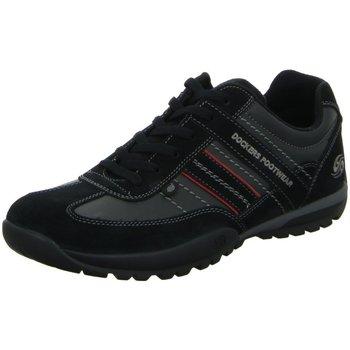 Schuhe Herren Sneaker Low Dockers by Gerli Schnuerschuhe 36HT001 204 100 schwarz