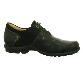 Schuhe Herren Derby-Schuhe Think Schnuerschuhe KONG HE 02 8-88651-09 schwarz