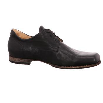 Schuhe Herren Derby-Schuhe Think Schnuerschuhe GURU 01 8-88690-00 schwarz