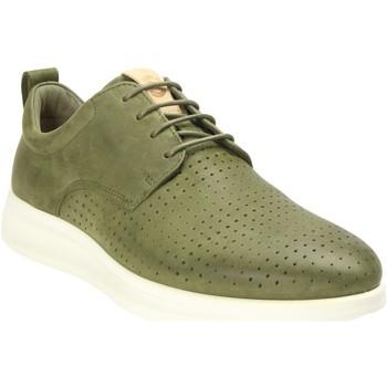 Schuhe Herren Sneaker Low Ecco Schnuerschuhe  AQUET 207004/02076 grün