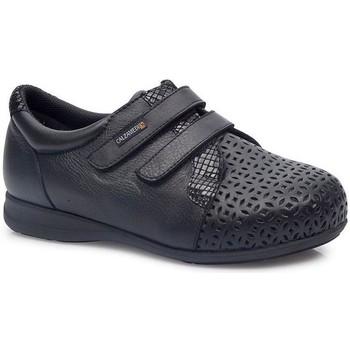 Schuhe Damen Derby-Schuhe & Richelieu Calzamedi DOPPELTER KOMFORTABLER SCHUH SCHWARZ