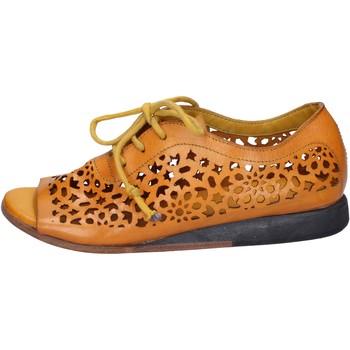 Schuhe Damen Sandalen / Sandaletten Moma sandalen gelb leder BX962 gelb