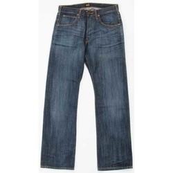 Kleidung Herren Straight Leg Jeans Lee JOEY 719CRSD niebieski