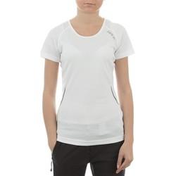 Kleidung Damen T-Shirts Dare 2b Acquire T DWT080-900 weiß