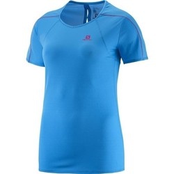 Kleidung Damen T-Shirts Salomon Minim Evac Tee W 371146 blau