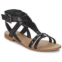 Schuhe Damen Sandalen / Sandaletten Casual Attitude JOSPRO Schwarz