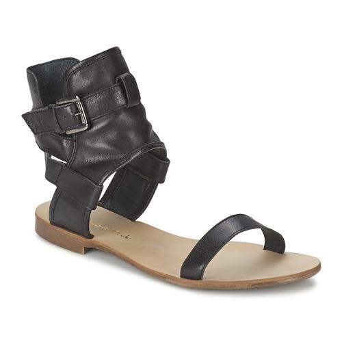 Schuhe Damen Sandalen / Sandaletten Casual Attitude PANTOLA Schwarz