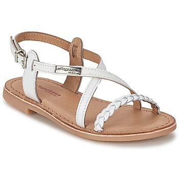 Schuhe Mädchen Sandalen / Sandaletten Les Tropéziennes par M Belarbi BALADIN Weiss