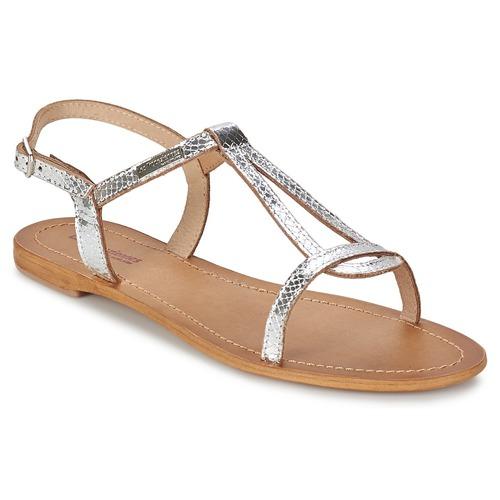 Schuhe Damen Sandalen / Sandaletten Les Tropéziennes par M Belarbi HAMAT Silbern