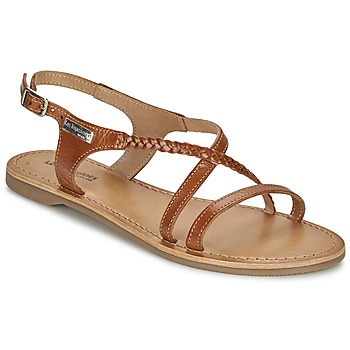 Schuhe Damen Sandalen / Sandaletten Les Tropéziennes par M Belarbi HANANO Braun