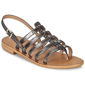 Schuhe Damen Sandalen / Sandaletten Les Tropéziennes par M Belarbi HERCRIS Silbern