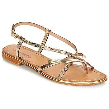 Schuhe Damen Sandalen / Sandaletten Les Tropéziennes par M Belarbi MONACO Goldfarben