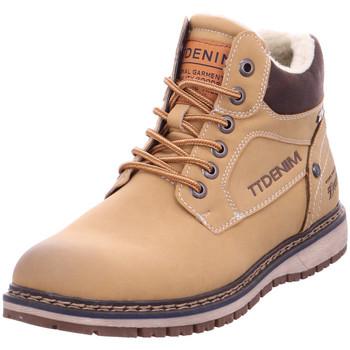 Schuhe Herren Stiefel Pep Step - 5885303 braun