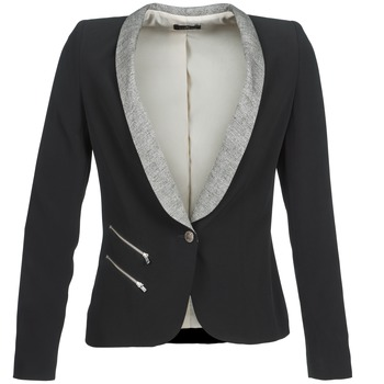 Kleidung Damen Jacken / Blazers One Step VIOLON Schwarz