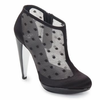 Schuhe Damen Ankle Boots Azzaro Couture INTERLUDE Schwarz